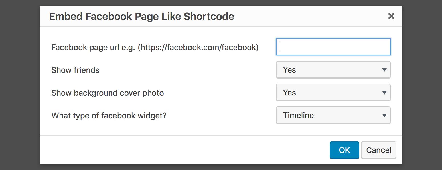 Insert Facebook Like Feed